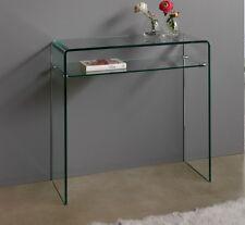 CON-03 Dupen Design Glas Konsole Tisch Konsolentisch Wandtisch Flur Diele Möbel