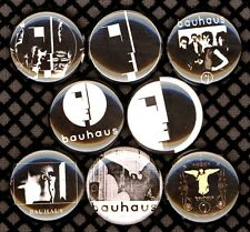Bauhaus 8 NEW button badge pin band goth death rock post-punk bela lugosi's dead