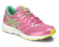 ASICS GEL ZARACA 4 GS C570N scarpe donna rosa sportive sneakers fluo running