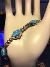 Hand of Fatima Tennis Bracelet