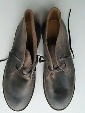 JCrew Junior MacAlister Desert Boots Lace up Shoes Brown Stone Mens UK 6.5 K7