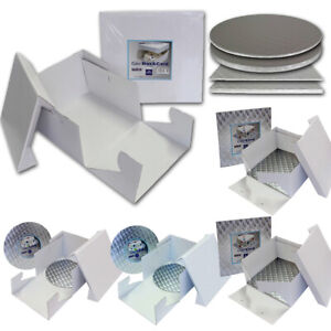 PME Cake Box Tortenkarton Tortenschachtel Gr. 15-45cm mit/ohne Cakeboard 3-12mm