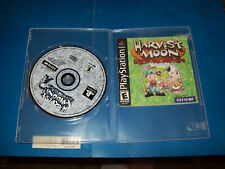 Harvest Moon: Back to Nature (Sony PlayStation 1, 2000) Game and Manual Only