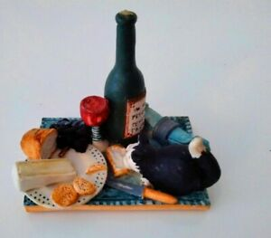 Peter Fagan Colour Box Cats  - Cheese and Wine 1986