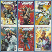 VALKYRIE JANE FOSTER #1 2 3 4 5 6 SET (1st PRINT) Thor Movie Marvel 2019 NM- NM