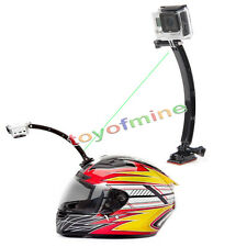 Helmet Extension Arm Adhesive Mount Holder For Gopro Hero 1/2/3/3+/4 Accessory