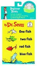One Fish, Two Fish, Red Fish, Blue Fish by Dr. Seuss paperback and CD, 2005 NEW