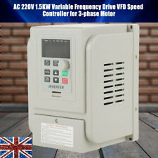AC220V 1.5KW Single To 3 Phase Motor Variable Frequency Drive Inverter Converter