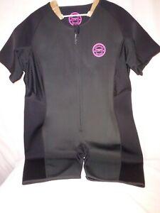 TNT Pro Series Neoprene Sauna Suit - Workout - Women's XXXXL (4XL) - Pink Black