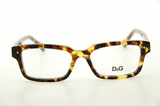New Authentic Dolce & Gabbana DG 1176 814 Tortoise 52mm Frames Eyeglasses RX