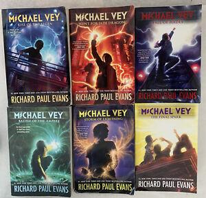 Lot Of 6 Michael Vey Series Book Set #2-7 By Richard Paul Evans