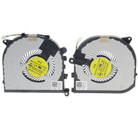 New OEM CPU+GPU Cooling Fan Left+Right For Dell XPS 15 9550 Precision 5510