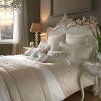 Kylie Minogue Yarona Kingsize Fitted Sheet Pillowcase Cushion Mauve Slate Black