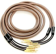 1pair Accuphase 40th Anniversary Edition Speaker Cable 2.5M banana plugs
