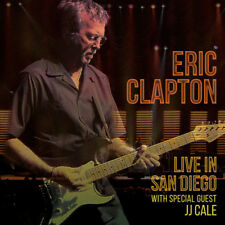 Eric Clapton : Live in San Diego With Special Guest J. J. Cale CD (2016)