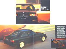 BMW 3 Series 323i Coupe 1995 Original UK Brochure