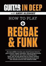 NEW Guitar World in Deep -- How to Play Reggae and Funk (DVD)