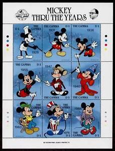 Gambia 814 MNH Disney, Mickey Mouse Birthday