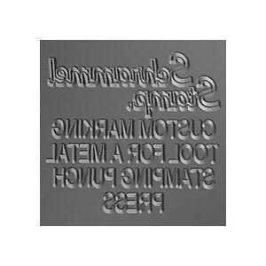 STEEL STAMP Tool/Die/Set for Metal Marking Stamping Manual/Hydraulic Punch Press