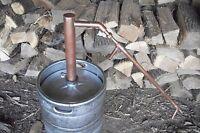 Moonshine Copper Pot Still Head-E85,Whiskey, Vodka, Rum, Water & Essential oils