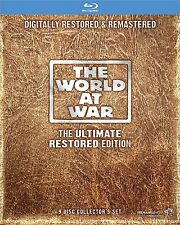 The World at War : The Ultimate Restored Edition Blu-ray Set 9 Disc Collector