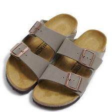 BIRKENSTOCK ARIZONA Women Narrow Slippers BFNB Stone 151213 Sandals