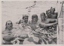 1936 BERLIN GERMAN OLIMPIC GAMES - Water Polo Hungary Team ORIGINAL PHOTO #101