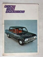 FIAT 125 SPECIAL vecchia cartolina lotteria SELAS auto car bis