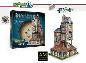 Wrebbit 3D Puzzle Harry Potter - Fuchsbau - The House Of Weasleys - New/Boxed