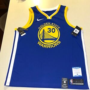 STEPHEN CURRY autographed signed WARRIORS #30 NIKE JERSEY BECKETT BAS COA Z06550