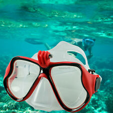 Underwater Camera Plain Diving Mask Scuba Snorkel Swimming Goggles for GoPro IY
