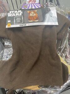 Ewok Pet Star Wars Halloween Costume Small