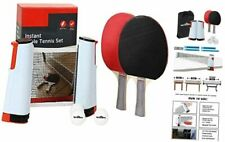 New listing Ping Pong Net Table Tennis -  Paddle Set with Retractable Net,Play Anywhere red