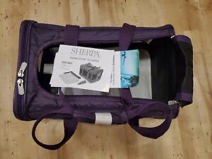 Sherpa Original Deluxe Pet Carrier Soft Side Cat Dog Travel Bag Medium Plum