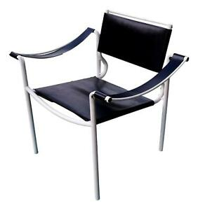 Chair Armchair Leather Spaghetti Design Giandomenico Belotti For Alias Years 80
