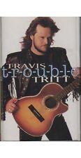 T-R-O-U-B-L-E ~ Travis Tritt ~ Country ~ Cassette ~ Good