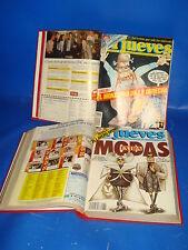Dos tomos encuadernados de la la revista EL JUEVES nº del 609 al 658- 1989-1990