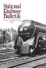 NRHS Bulletin V57 N5 J Class Iron Horse Norfolk & Western Santa Fe Mountain Budd