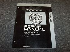 2005 2006 2007 2008 Toyota RAV4 A140F Transmission Service Repair Manual 4x4