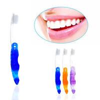 1pc Portable Mini Travel Falten Zahnbürste Persönliche Mundpflege Kit
