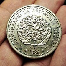 Portugal 100 escudos 1986 COMMEMORATIVE coin Azores Islands (UNC!!)
