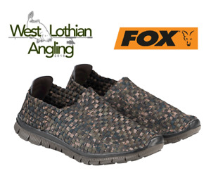 Fox Camo Mesh Trainers Quick Dry Slip on Bank Shoes