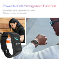 Bluetooth Sport Activity Blood Pressure Monitor Heart Rate Smart Wrist Watch