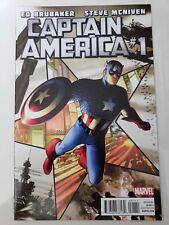CAPTAIN AMERICA #1 (2011) MARVEL COMICS MCNIVEN! 1ST APPEARANCE CODENAME: BRAVO