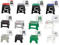 Easy Folding Stool Home Kitchen Skid Resistant Extra Strong Hold Up To 100 Kg