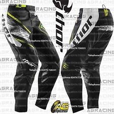 """Thor Phase Pro Circuit Black Green Youth Kids Race Pants 22 inch 22"""" Motocross"""