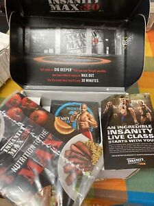 BEACHBODY INSANITY MAX 30 Workout + BONUS Sweat Fest DVD BOX SET