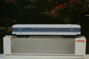 """Märklin H0 4032 Inter-Regio Personenwagen 2. Klasse der DB  """"aus Metall""""  E12"""