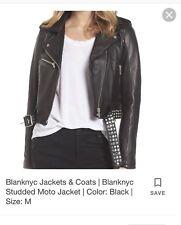 woman leather jacket Medium Blank NYC