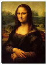 Quadro moderno Stampa Leonardo da Vinci 100x70 Gioconda Monalisa riproduzione